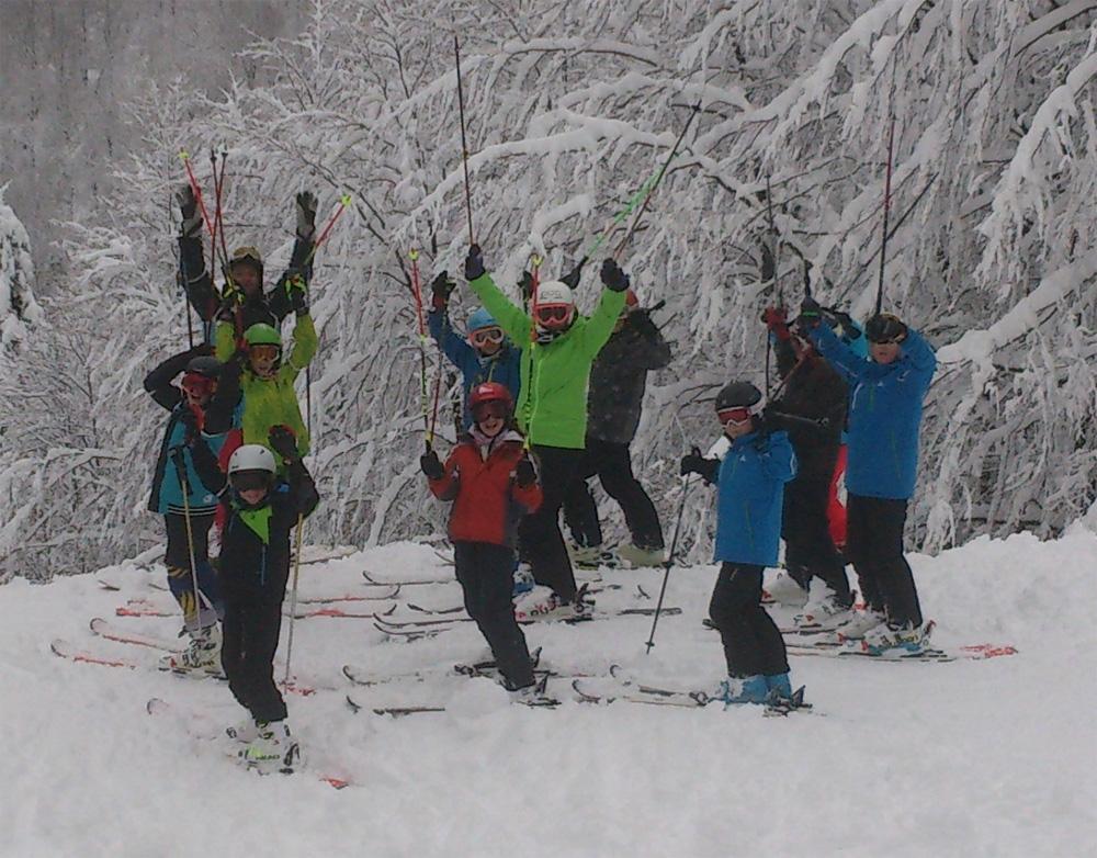 L'équipe du Ski Alpin Haute Thur